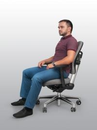 Ортопедическое офисное кресло TANGO без подголовника