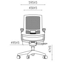 Эргономичное кресло для подростков Z.MAX-06