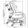Детское регулируемое кресло FunDesk SST1