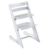 Растущий стул Конек Комфорт белый
